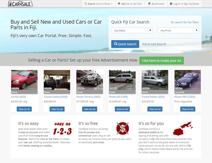 Fiji Cars Classifieds